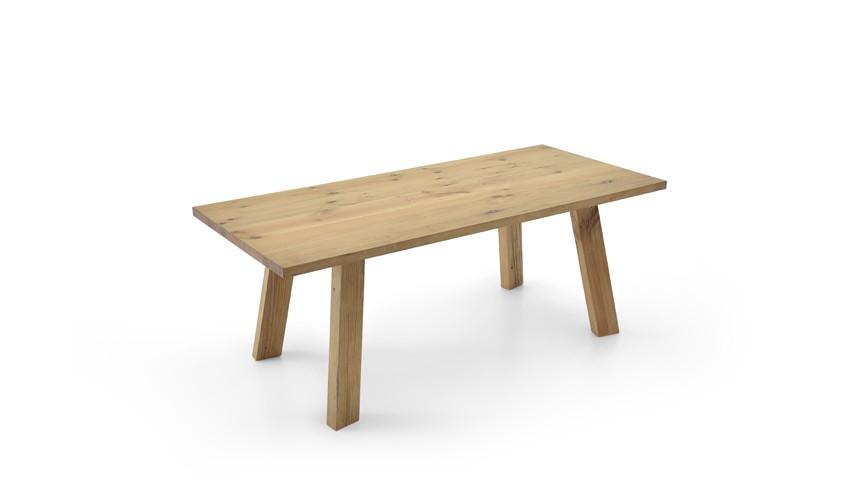 Mesa de Comedor con tapa y patas macizas Ref JI10010