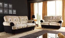 A74300 Sofá Clásico disponible en 3, 2 y 1 Plazas y con opción Chaiselongue.