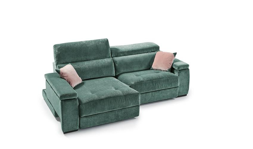 MT43000 Sofá con deslizante convertible en cama y en chaiselongue