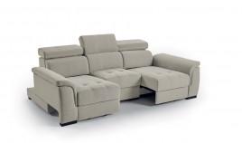 MT44000 Sofá con deslizante convertible en cama y en chaiselongue