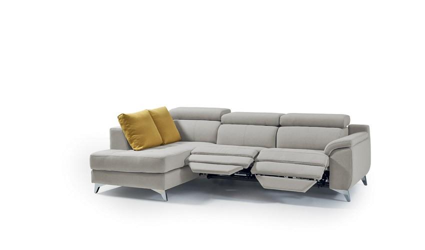 MT46200 Sofá Reláx motorizado con chaiselongue disponible tambien en 4, 3, 2 y 1 Plazas