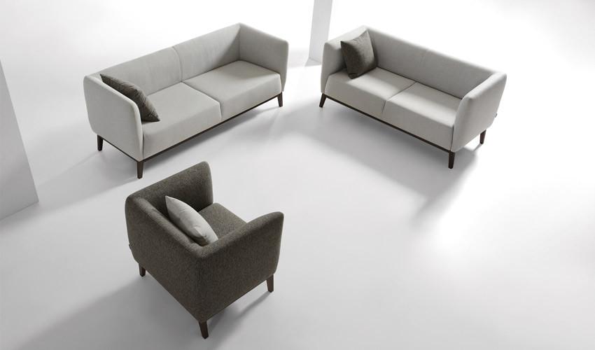 D60000 Sofá de diseño en 3, 2 y 1 plazas