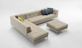 D61100 Sofá Chaiselongue de diseño disponible tambien en 4, 3 y 2 plazas