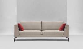 D62000 Sofá de diseño en 4, 3 y 2 plazas disponible tambien con chaiselongue
