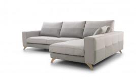 MT51100 Sofá chaiselongue con asientos viscoelásticos disponible tambien en 4, 3, 2 y 1 Plazas