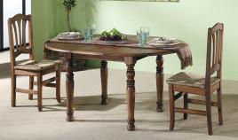 Silla con asiento de Enea de estilo provenzal fabricada en madera de pino acabado a elegir Ref JI10079