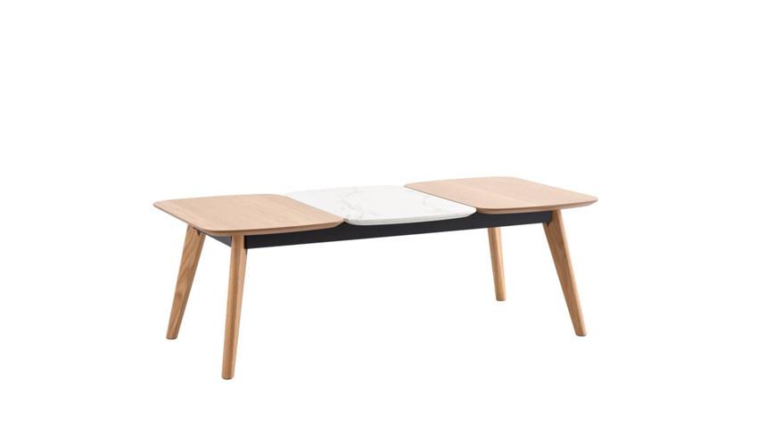 Mesa de centro moderna de madera acabado roble Ref IX45000