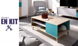 Mesa de centro de estilo moderno Ref YK13000