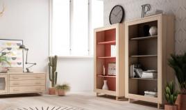 Librero fabricado en madera de Pino disponible en diferentes tamaños Ref JI10086