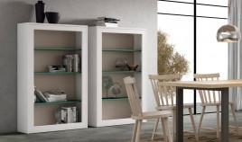 Librero fabricado en madera de Pino disponible en diferentes tamaños Ref JI10088