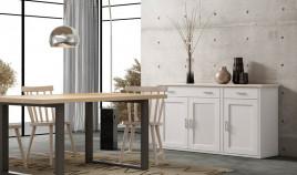 Aparador fabricado en madera de Pino disponible en diferentes tamaños Ref JI10090