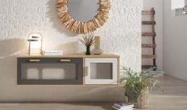 Consola recibidor fabricado en madera de Pino Ref JI10099