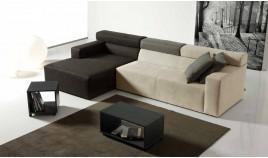 D35100 Sofá en 3,2,1 plazas, opción rinconera y Chaise Longue con Reposacabezas Elevables