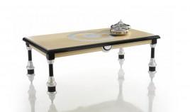 Mesa de Comedor de Diseño acabado Pan de Plata Ref L33000