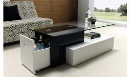 Mesa de Centro de Diseño con botellero Ref L34000