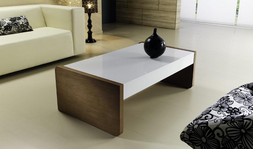 Mesa de centro de dise o con tapa deslizante for Mesas auxiliares de diseno