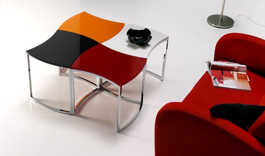 Mesa de Centro de Diseño cuadrada Ref L40000