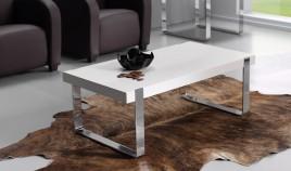 Mesa de Centro con Patas Cromadas Ref L42000