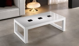 Mesa de Centro de Diseño Rectangular Lacada Ref L48000