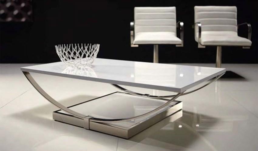 Mesa de Centro con bastidor de Acero Ref L56000
