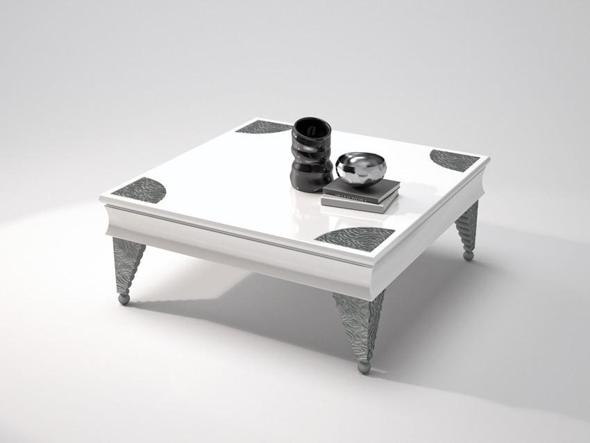 Mesa de centro de dise o con grabados - Mesa centro diseno ...