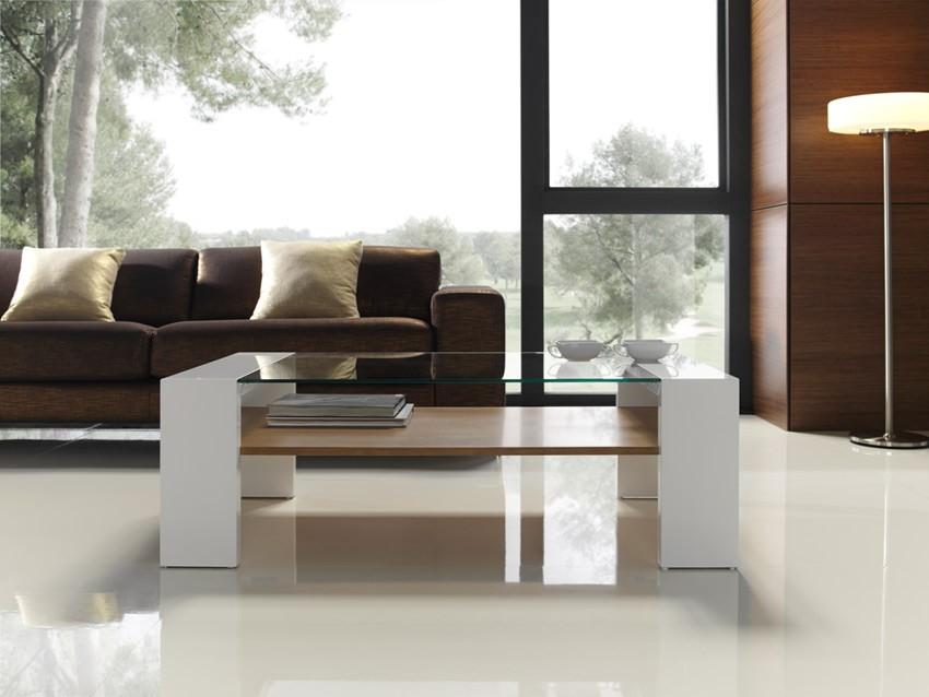 Mesas modernas de centro perfect mesas de centro de for Mesas modernas de cristal