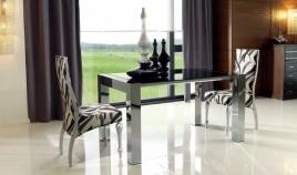 Mesa de Comedor Extensible en aluminio Ref L67000