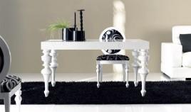 Mesa de Comedor Extensible y con Tapa Grabada Ref L69000