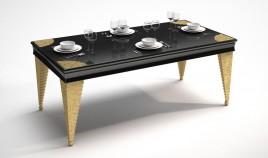 Mesa de Comedor de Diseño con Grabados Ref L76000