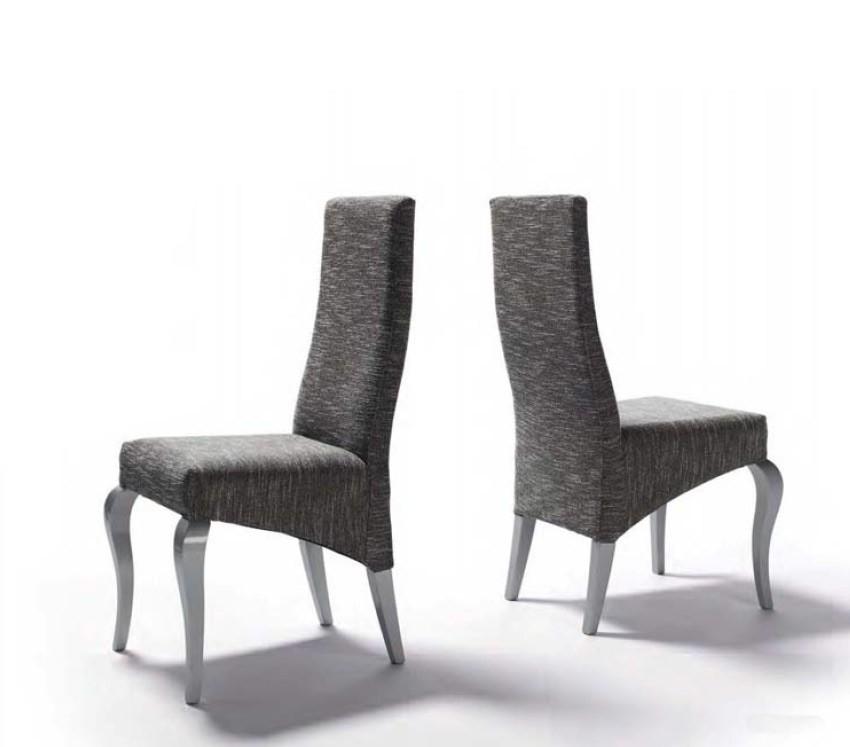 Silla de comedor de dise o tapizada ref l78000 for Imagenes de sillas para comedor