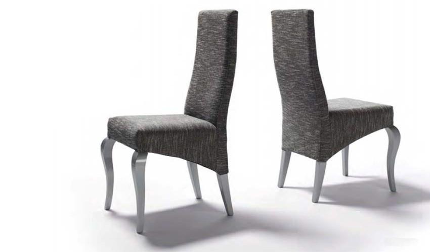 silla de comedor de dise o tapizada ref l78000