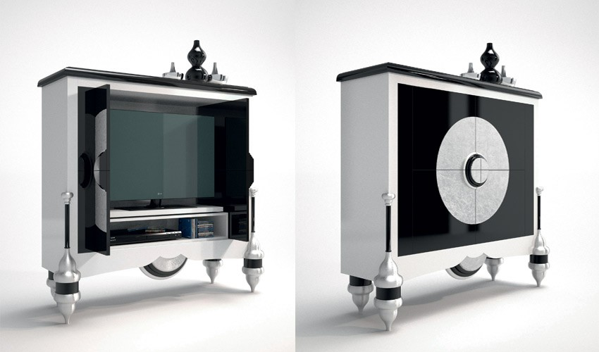 Mueble de televisi n de dise o for Software diseno de muebles