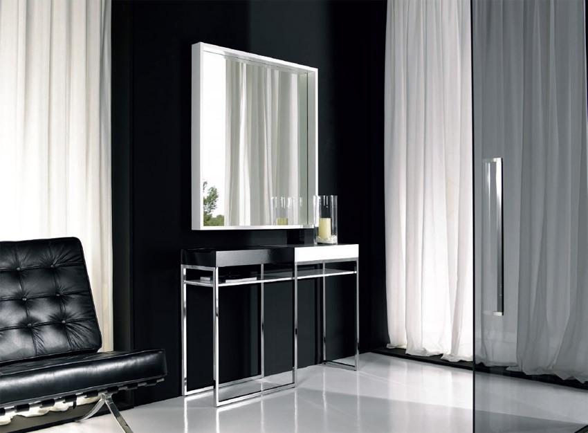 Conjunto recibidor consola mas espejo ref l84000 for Espejo grande recibidor