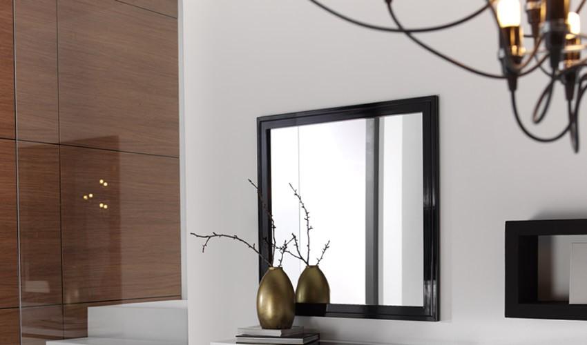 Espejo Cuadrado Lacado Ref L88000