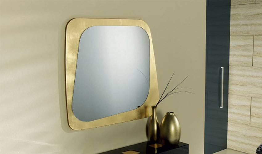 Espejo recibidor ovalado ref l93000 for Espejo grande recibidor