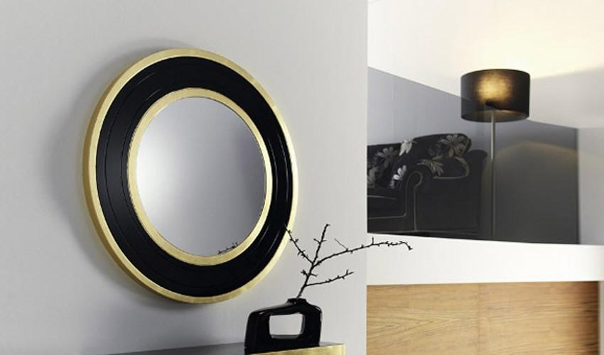 Espejo de dise o redondo ref l94000 for Espejo redondo grande