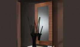 Espejo Recibidor Acabado Nogal Ref L100000