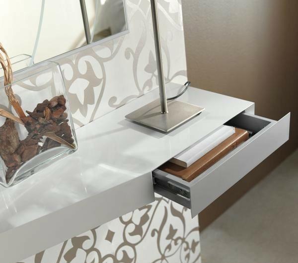 Conjunto recibidor con consola y espejo redondo ref l105000 for Espejo redondo recibidor