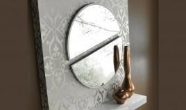 Espejo Recibidor Redondo partido Ref L106000