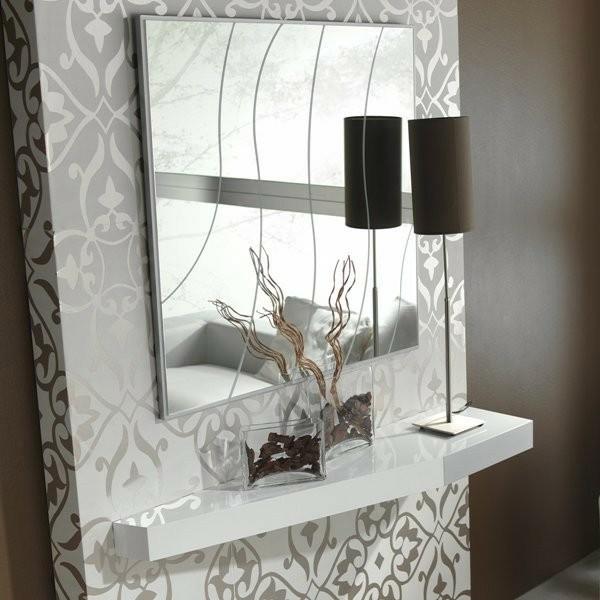 Espejo cuadrado con dibujo ref l108000 - Dibujos para espejos ...