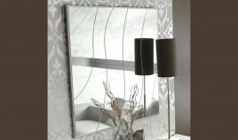 Espejo Cuadrado con Dibujo Ref L108000