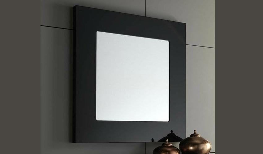 Espejo recibidor lacado ref l112000 for Espejos grandes para recibidor