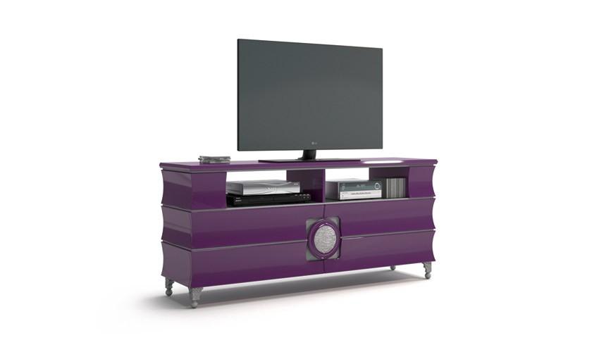 Mueble de televisi n de dise o acabado lacado - Diseno de muebles de tv ...