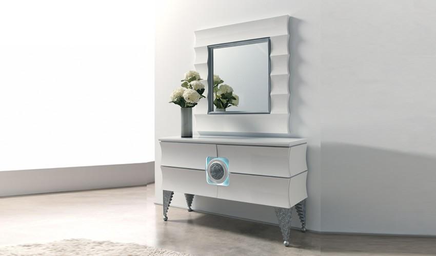 Conjunto recibidor de dise o impecable ref l116000 - Muebles recibidores de diseno ...