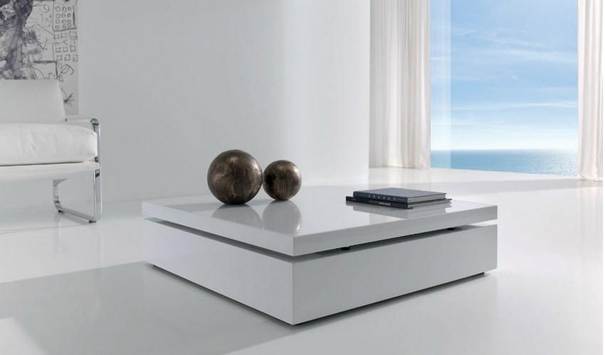 Mesa de centro elevable con hueco guarda objetos - Mesas de centro elevables y extensibles ...