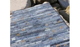 Alfombra en tela Vaquera fabricada a Mano en material Sintético, confeccionada en la India Ref C34000