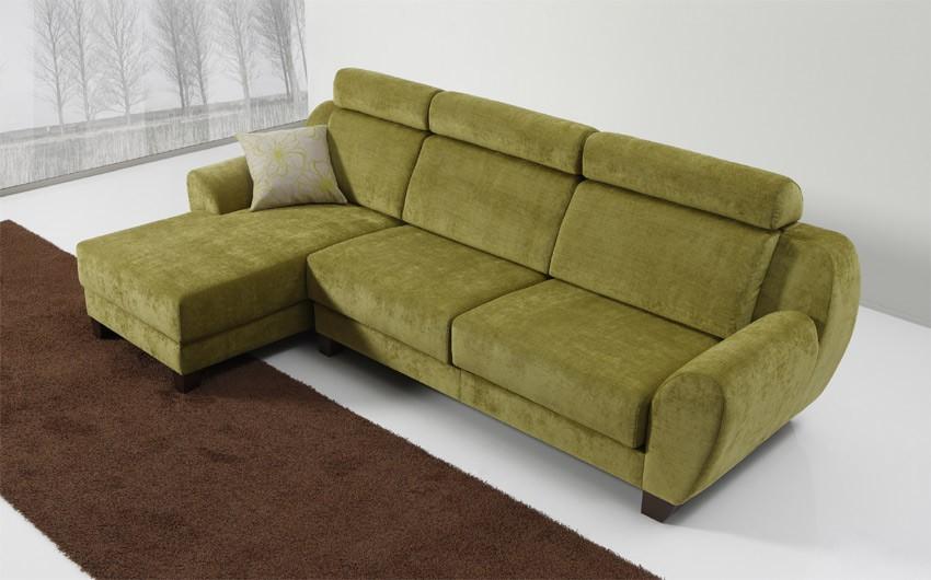 D13100 Sofá de exclusivo diseño en 3,2,1 plazas con opción Chaise Longue y Rinconera