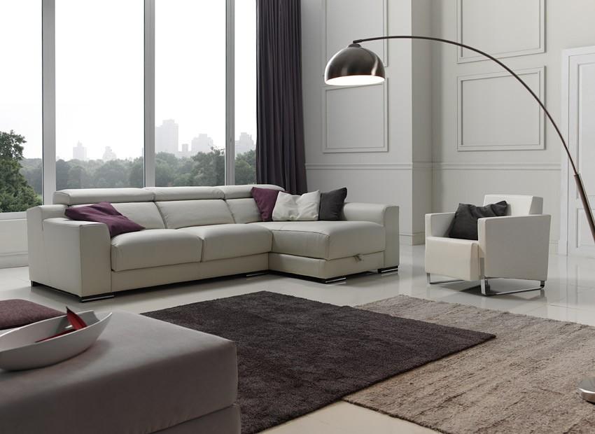 Sof con opci n arc n en chaiselongue rinconera y en 3 2 for Imagenes de sofas modernos