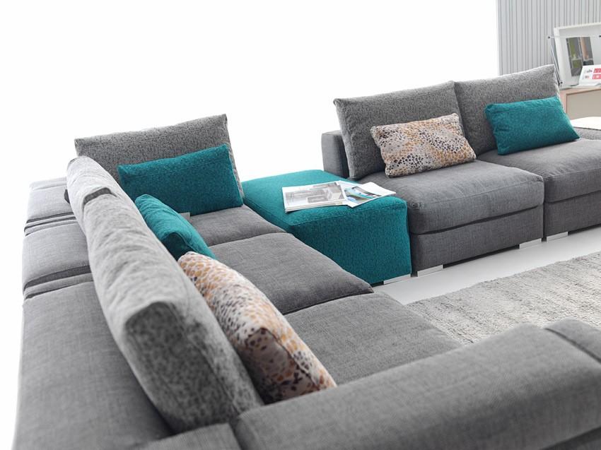 Sof modular de moderno dise o al mejor precio for Precios de sofas modernos