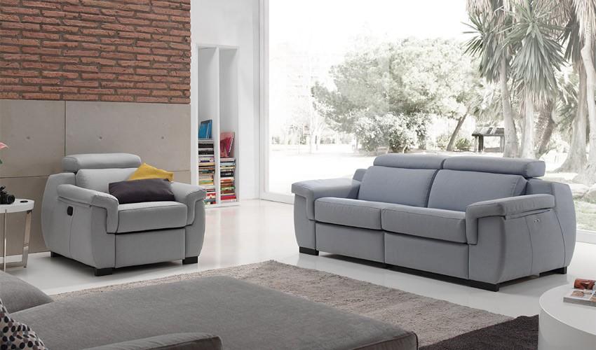A56000 Sofá Relax En 3, 2 y 1 Plazas disponible con opción Chaiselongue